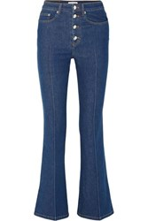 Sonia Rykiel High Rise Flared Jeans Blue