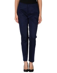 Xandres Trousers Casual Trousers Women Dark Blue