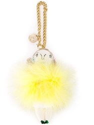 Muveil Pom Pom Charm Yellow Orange