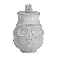 Jonathan Adler The Hip Hop King Canister White