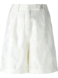 Zoe Jordan High Waisted Shorts White