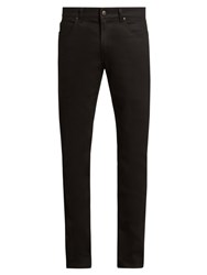 Stella Mccartney Classic Mid Rise Slim Fit Jeans Black