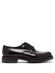 Church's Chester Chunky Sole Leather Derby Shoes Black