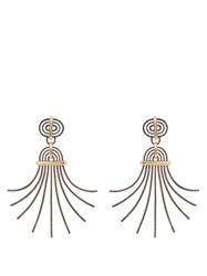Lanvin Elvira Earrings Yellow Gold
