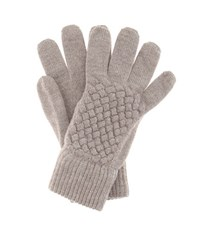 Bottega Veneta Wool Gloves Grey