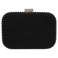 Miss Kg Hana Box Clutch Bag Black