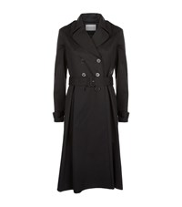 Claudie Pierlot Garden Trench Coat Female Black