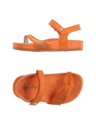 Naturino Thong Sandals Orange