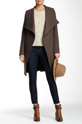 Luma Wool Blend Coat Brown