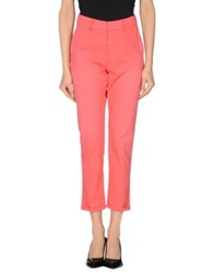 The Editor Casual Pants Coral