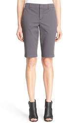 Women's Vince Side Buckle Bermuda Shorts Iron
