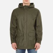 A.P.C. Men's Parka Guillaume Jacket Khaki Militaire Green