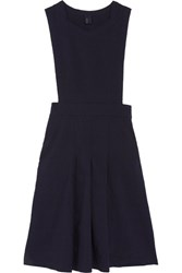 Comme Des Garcons Girl Twill Midi Dress Navy