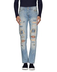 Pence Denim Denim Trousers Men Blue