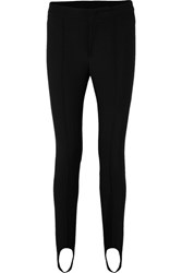 Moncler Grenoble Stretch Twill Stirrup Pants Black