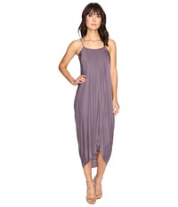 Culture Phit Daphne Spaghetti Strap Maxi Dress Purple Women's Dress