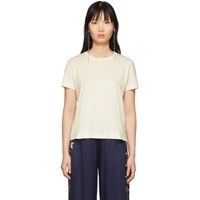 Raquel Allegra Off White Boy T Shirt