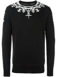 Marcelo Burlon County Of Milan 'Huemules' Jumper Black
