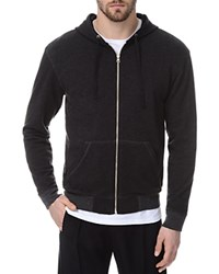 Atm Anthony Thomas Melillo Atm French Terry Zip Hoodie Charcoal