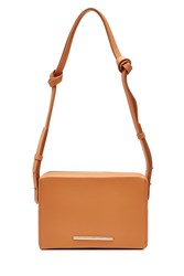 Roland Mouret Leather Shoulder Bag Brown