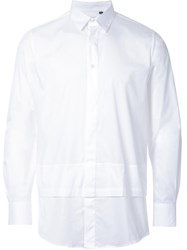 Matthew Miller 'New Man Layered' Shirt White