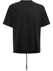 Y Project Closed Neck T Shirt Black