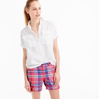 J.Crew Sunday Slim Short In Vintage Plaid