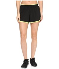 The North Face Reflex Core Shorts Tnf Black Wild Lime Women's Shorts
