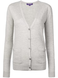 Ralph Lauren Collection Cashmere Cardigan Grey