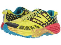 Hoka One One Speedgoat 2 Black Evening Primrose Running Shoes Yellow