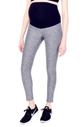 Ingrid And Isabelr Women's Isabel 'Active' Maternity Leggings With Crossover Panel