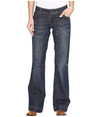 Stetson Denim Trouser S On Back Pocket Blue Women's Jeans