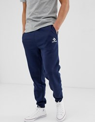 Converse Skinny Joggers In Navy 10008815 A02