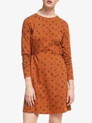 People Tree Bianca Woodland Dress Ginger