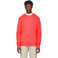 Acne Studios Pink Wool And Cashmere Peele Sweater