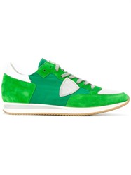 Philippe Model Tropez Bassa World Sneakers Green