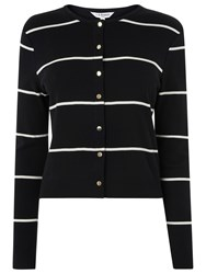 Lk Bennett L.K. Mallory Striped Cardigan Multi