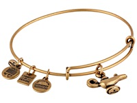 Alex And Ani Lamp Of Light Charm Bangle Rafaelian Gold Finish Bracelet