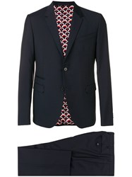 Valentino Formal Two Piece Suit Blue