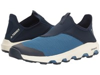 Adidas Terrex Climacool Voyager Slip On Core Blue Collegiate Navy Chalk White Men's Shoes