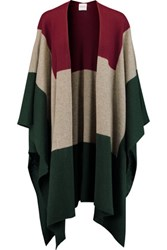Madeleine Thompson Indil Color Block Cashmere Poncho Multi