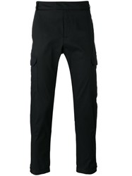 Les Hommes Straight Trousers Men Cotton Spandex Elastane 48 Black