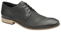 Frank Wright Muddy Mens Shoes Black Leather