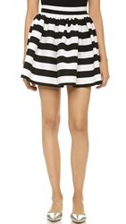 Partyskirts By Skot Black And White Stripe Party Skirt Black White Stripe