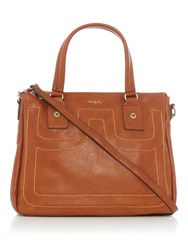 Ollie And Nic Cora Tote Bag Tan