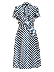 Marc By Marc Jacobs Checked Silk Dress