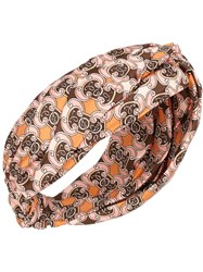 Fendi Printed Headband Pink
