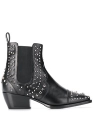Philipp Plein Low Cowboy Boots Black