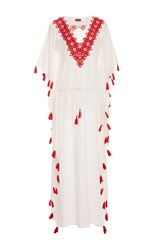 Chantik Long Bugles Caftan White