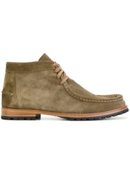 N.D.C. Made By Hand Janko Ankle Boots Leather Suede Rubber Nude Neutrals